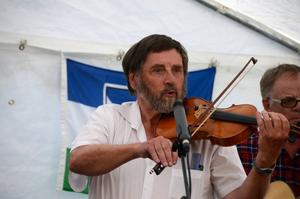 Erik Eriksson på fiol.