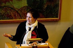 Jenny Landernäs, gruppledare för Moderaterna i Hallstahammar.