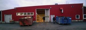 Det här industrihuset på Hammarstrands industriområde köpte Bispgårdens Åkeri nyligen.Foto: Ingvar Ericsson