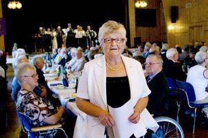 Gun Norin är ordförande för PRO i Kilafors sedan två år tillbaka. På lördagen kunde hon fira föreningens 65-årsjubileum tillsammans med medlemmarna.
