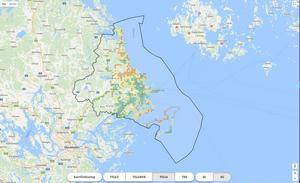 Länsstyrelsen, landstinget och kommunerna kartlägger mobiltäckningen i Stockholms skärgård. På Täckningskollen.se visas hur just din opertörs mobiltäckning ser ut.