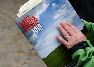Trine Andersson pratade om Lantbruksbarometern, den årliga undersökningen av lantbrukarnas tillstånd i Sverige.