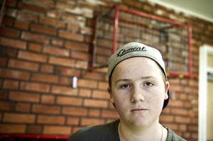 Hannes Grejs, 8B, var med i arrangörsgruppen.