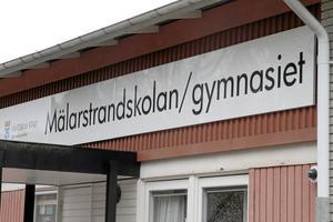 """Mälarstrandskolan. Kan ersättas av en annan """"undervisningsgrupp"""", enligt kommunens skolchef.             Foto: Staffan Bjerstedt"""