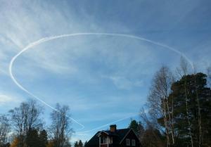Den här bilden togs av Joel Haglund i Strömsund.
