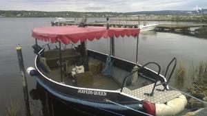 Järfveds Queen är sjösatt för sin första tur.