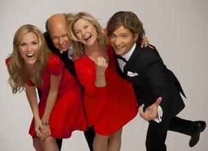 Ger julkonsert. Marie Serneholt, Lasse Kronér, Elisabeth Andreassen och Andreas Johnson gör jul i Gävle 29 november.