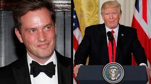Chris O'Neill har – av  inlägget på Instagram att döma – inte mycket till övers för  Donald Trump.