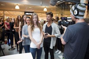 Erica Kivinen intervjuades av Andreas Wijk från Kanal 5.