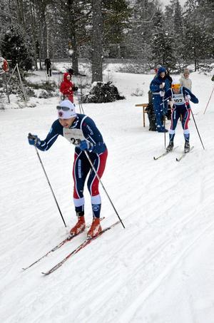 Hytterännet. Nu är det dags för årets upplaga av Hytterännet, här sedan tidigare 2012 med klubbmästaren Per Eklöf. Arkivbild: Malin Eriksson