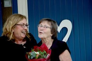 Marie Christensen tillsammans med sin mamma Gunilla Eklund.