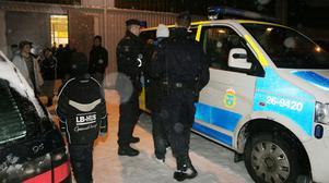 GREPS. En 23-årig Arbogasupporter omhändertogs i går av polisen sedan han uppträtt störande i samband matchen mellan Valbo Hockey och Arboga i allettan.