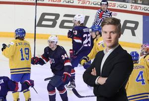 Adam Johansson sågar Sveriges insats i bronsmatchen mot USA.