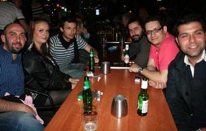 Bill & Bob. Filippo, Anna, Mauro, Euripidis, Antonio och Ronaldo