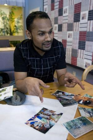 Ster Abdu berättar om sitt liv som barfotaläkare i Burmas djungel.