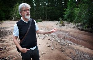 Janolof Hermansson gör ingen hemlighet av att han personligen gärna skulle se att kommunen medverkar till att Sollen blir naturreservat. Något som politiker av flertalet kulörer hittills bestämt motsatt sig.