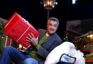 Ernst sprider gärna julens budskap från Norrland. Foto: JONAS EKSTRÖMER