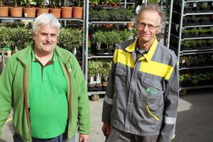 Tore Lindberg och Bengt Knutsson konstaterar att Bondemarknaden i Edsbyn är en folkfest, som brukar ha otrolig tur med vädret. Det är 17:e året som Bondemarknaden körs. Där finns alla från skogsbolag till skolklasser som säljer liksom lokala småbönder och hantverkare.