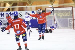 Oscar Wikblad, Edsbyns P20,  knackade in spiken till 4-2 i cupfinalen mot Villa Lidköping