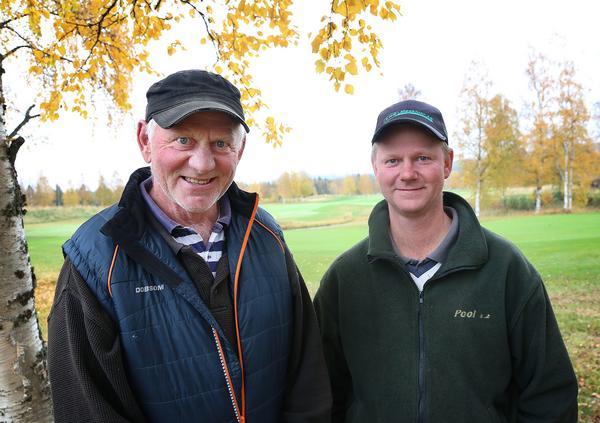Christer och Pär Öhrman, Hede. Med brinnande intresse, gedigen kunskap och otroligt engagemang gör företaget golfbanan i Hede till en av Norrlands finaste golfbanor.
