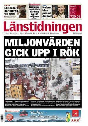 LT:s etta 19 januari, 2010, ritad av P-O Grönberg.
