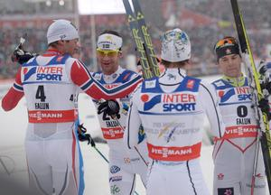 Anders Södergren hyllades – och hyllade Northug.