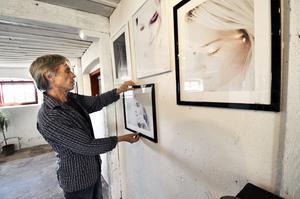 Ulfs egna. Genom åren har Ulf Andersson tagit mängder med fotografier, exempelvis porträttbilder som de bilden visar.