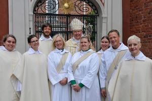 Nyvigda präster och diakoner i Strängnäs stift.