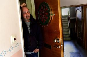 Över gränsvärdet. Anders Ekström bor i ett av husen på Knoppen där man mätt radon över gränsvärdet.