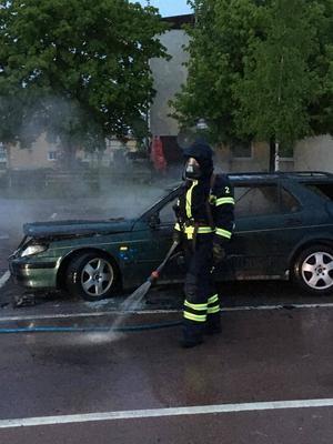 Under natten till måndag 5 juni larmades räddningstjänsten i Orsa till ännu en bilbrand.