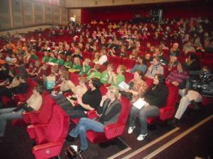 12 lag med totalt 300 deltagare deltog i årets upplaga av tävlingen Firs lego på Härnösands Teater