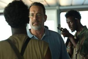 Tom Hanks spelar kapten Phillips, i ett mycket spännande sjödrama som bygger på en verklig historia.Foto: Sony pictures