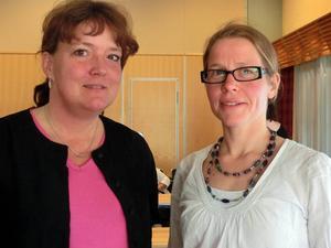 Parkinsonsköterskan Maria Dahlgren och överläkare Anna Karin Roos, neurovården