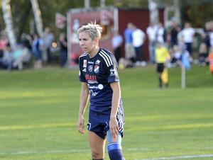 Sarah Elnicky har varit en given startspelare under lång tid i Kvarnsveden, nu återvänder hon till USA.