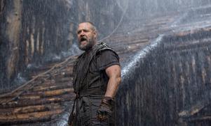 Russell Crowe som den bibliske arkbyggaren Noah i filmen med samma namn.   Foto: Niko Tavernise/AP/TT