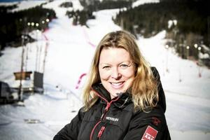 Karin Stolt Halvarsson är manager för Åres WC-evenemang och berättar om en stor budget.