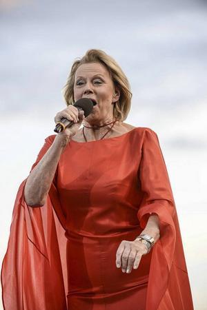 Den 7 juli står Arja Saijonmaa på scenen vid Visor vid Rångsjön.