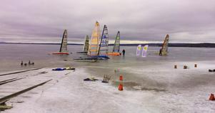 Sju isjakter från Leksand, Falun och Västerås fanns på startlistan inför lördagens tävling.