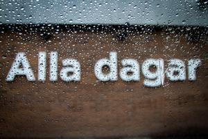 Regn alla dagar