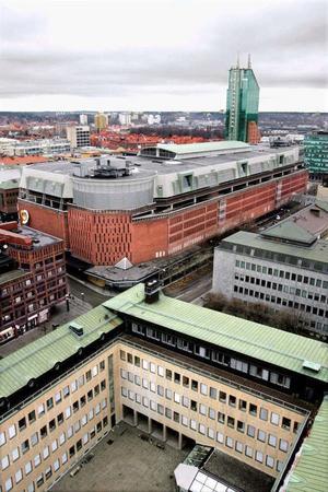 Punkthuset har röstats fram som Västerås fulaste hus.