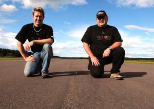 För åttonde gången i ordningen arrangeras Marie Memorial Race i Dala-Järna av SHRA Vansbro-Äppelbo och Arne Bogsveen och Anders Edin hoppas att asfalten är torr och fin då.