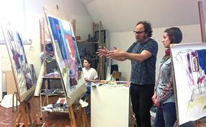 Vid sidan av sitt konstnärskap är Bo Ljung också lärare i måleri och konsthistoria på Västerås konstskola.