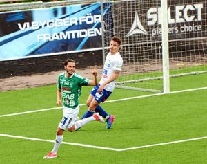 Stefan Ilic kan ha jublat för sista gången i IK Brages färger.