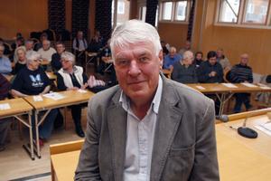 Junilistans ledare Sören Wibe