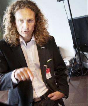 Magnus Trense, platschef på Östersundsflyg.