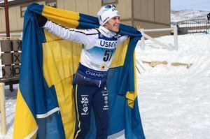 Onsdagens JVM-guld betydde mycket för Ebba. Nu är hon ett guld från att tangera Lina Anderssons rekord på fyra guld i JVM-sammanhang.