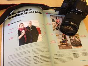 Tomas Genusfotografen Gunnarsson har kommit ut med en bok som sammanfattar teorin kring normkritiskt fotografi.