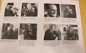Några av de fotografer som finns med i boken. Foto: Roland Engvall