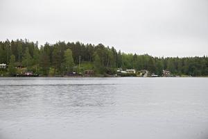 Tromben drog in över Norrfjärd sommaren 1997.