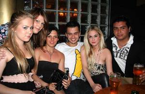Silk. Nicolina, Anna, Anna, Emanuel, Isabell och Daniel
